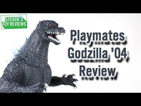 Playmates Final Wars Godzilla 2004 Review