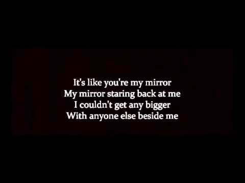 Justin timberlake mirrors lyrics hq youtube for Mirror mirror lyrics
