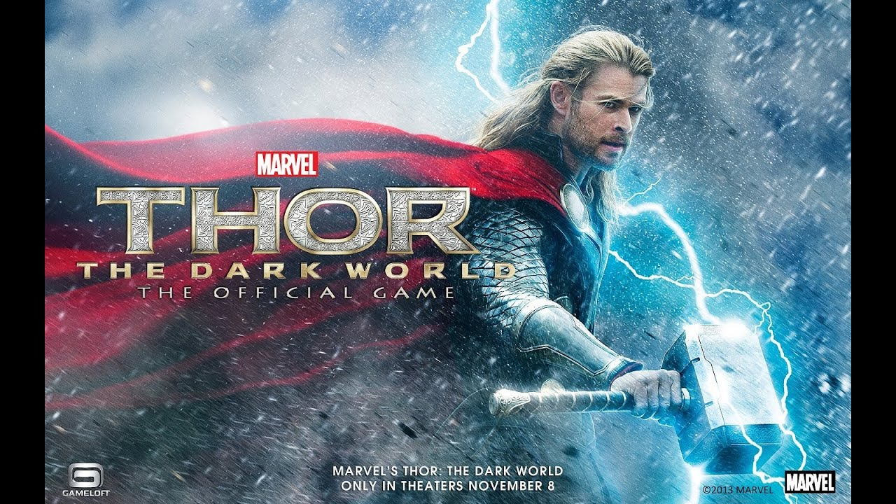 New Game] Gameloft Releases Thor: The Dark World, A Movie