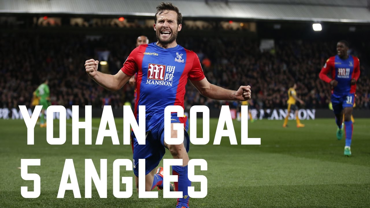 Yohan Cabaye goal against Arsenal