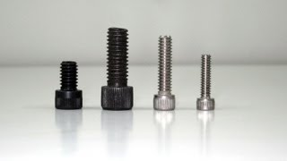 Fasteners: Machine Screws and Bolts