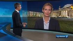 Bundestagswahl: Alice Weidel (AfD) im Interview
