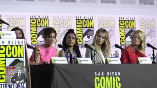 EW's WOMEN WHO KICK ASS | 2019 Comic Con (Freema Agyeman, Betty Gilpin, Cobie Smulders, Jeri Ryan)