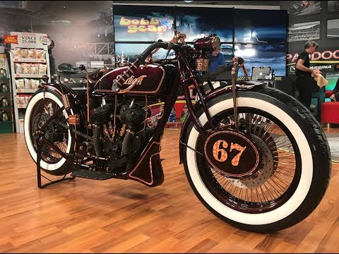1927 Indian Wall of Death: Retro-modified by American Dreams