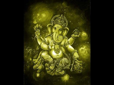 Ганеша ,Ganapati , устраняет все препятствия на пути исполнения желаний ,очень мощная мантра