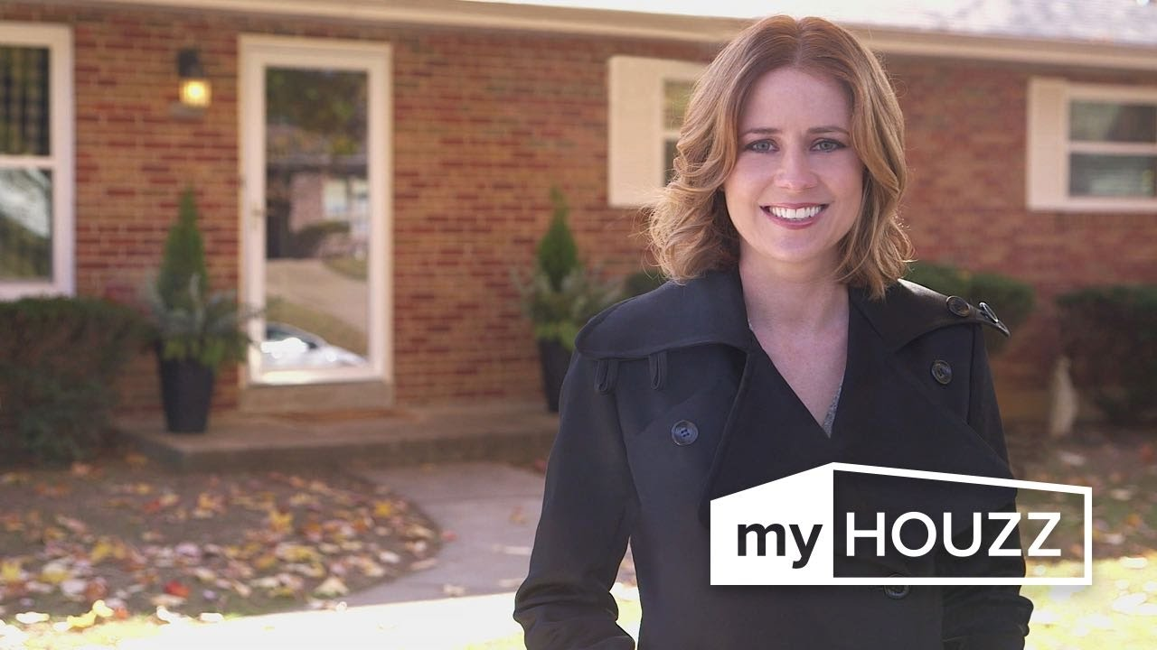 My Houzz Jenna Fischer S Surprise Renovation For Her Sister Youtube