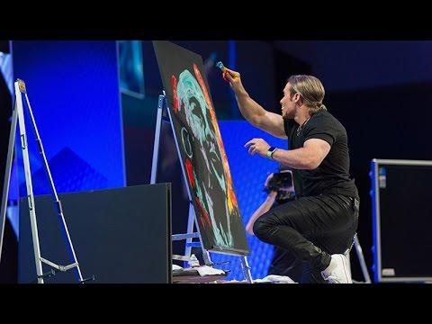 Erik Wahl - Graffiti Artist * Keynote Speaker (2012 sizzle reel)