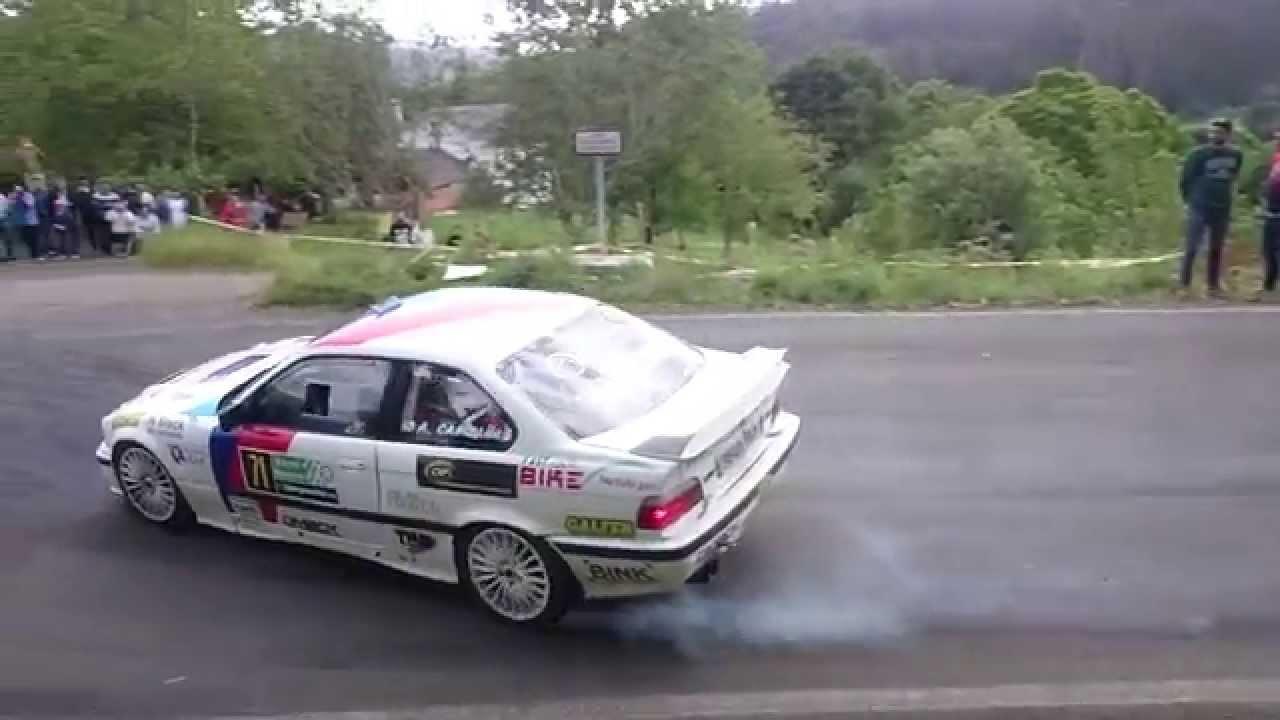 Adrián Campaña/Edi Fabeiro - BMW 328 - Rally Narón 2015 - YouTube