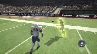 Official Backbreaker football [HD] video game defense tutorial trailer PS3 Xbox
