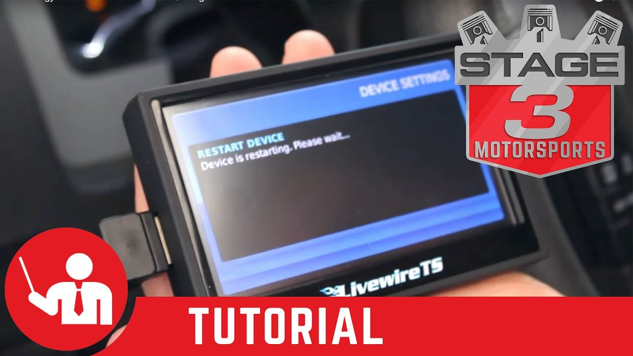 How To: Pull Ford strategy with SCT livewire TS Tuner/ Programmer