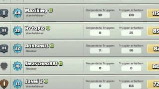 Clash of Clans - Clanwerbung