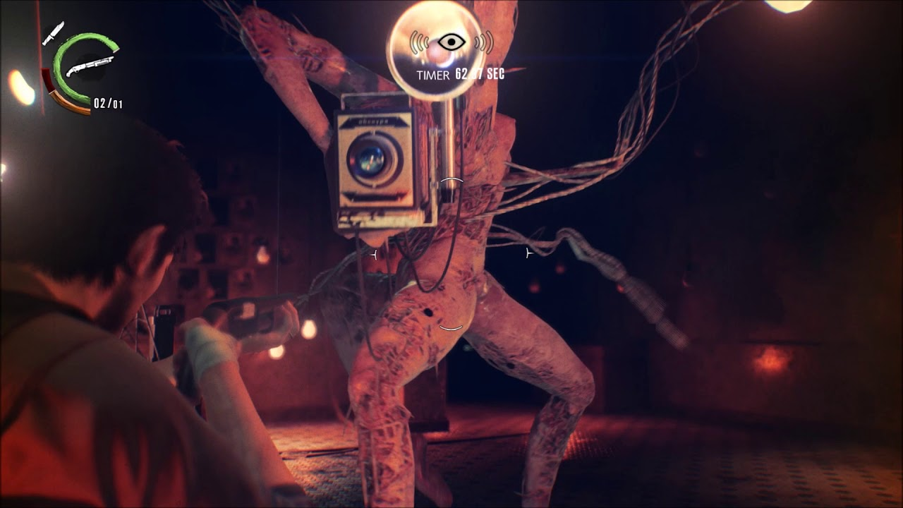 The Evil Within 2 Obscura: The Evil Within 2 Camera Thing Boss Fight