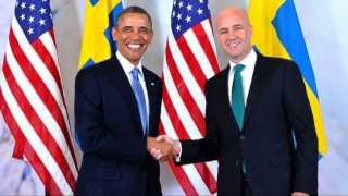 The U.S. President Barack Obama in Sweden 09/04/2013