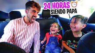24 HORAS SIENDO PAPA DE MI VECINO Y SU NOVIA 👶