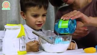 Как самому сделать пластилин? ЧЕЛОВЕЧКИ ИЗ ВОЗДУШНЫХ ШАРИКОВ! Эксперименты Феди