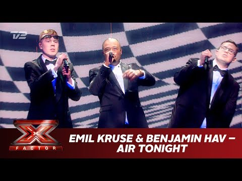 Emil Kruse & Benjamin Hav synger 'Air Tonight' (Live) | X Factor 2019 | TV 2