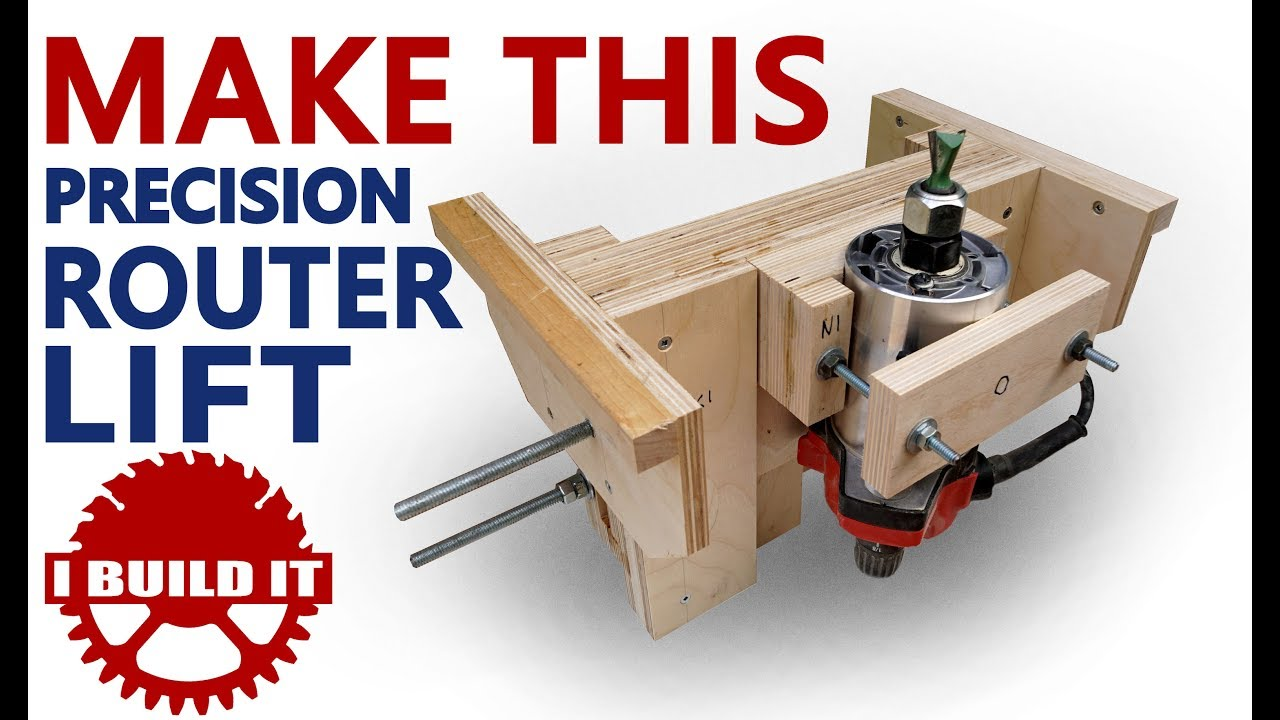 Make this precision router lift youtube make this precision router lift keyboard keysfo Gallery