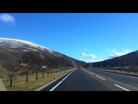 Road trip, Scottish highlands (Aviemore and Cairngorm mountain)