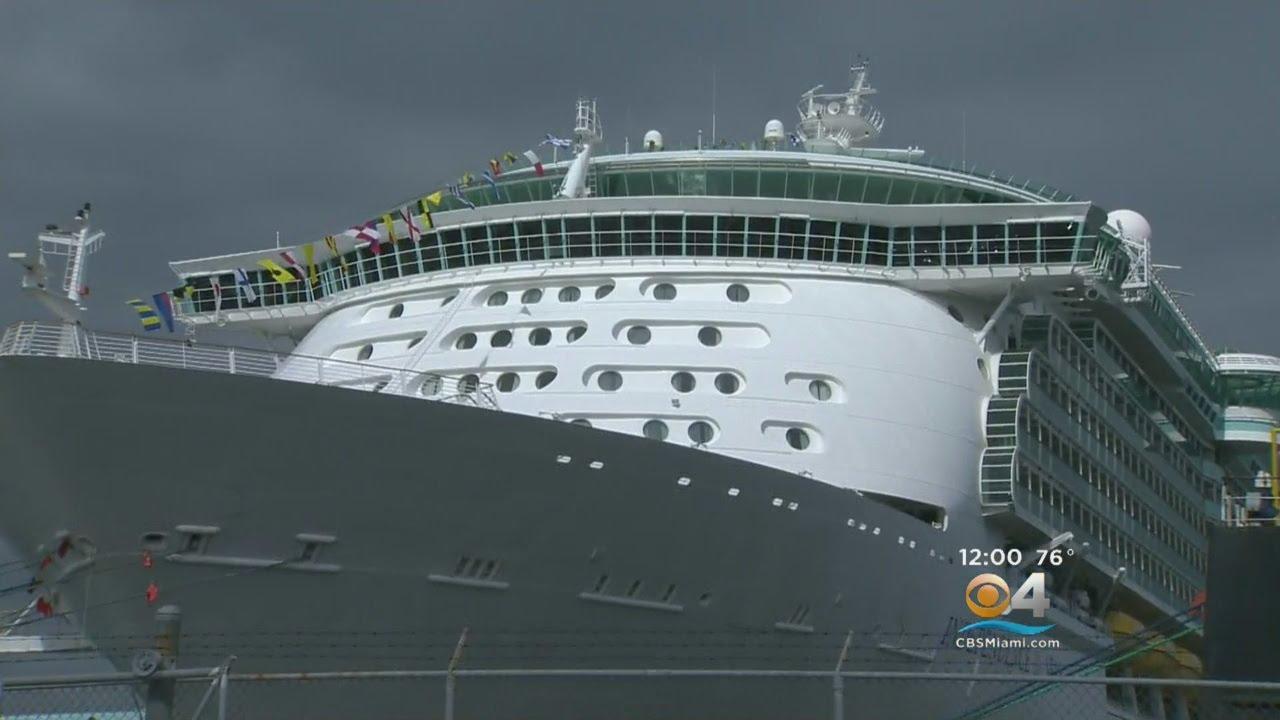 Royal Caribbean Cruise Passenger Jumps From Ship