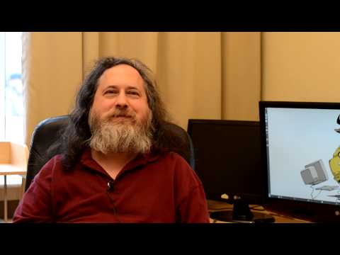 Richard Stallman talks about Hacktivism and Anonymous protest