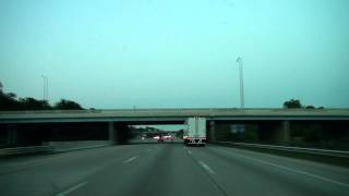 I-465 East at Dusk: Indianapolis, IN