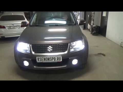 Улучшаем свет Suzuki Grand Vitara + BI-LED I.LENS + Probright