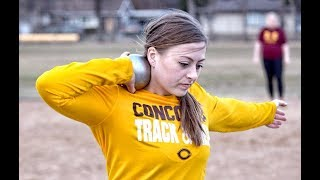 Cobber Women's Track & Field - Bailey Hovland Cobber Twilight Highlights