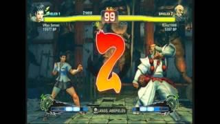 super street fighter 4 endless sparring 2 gouken rulez vs makoto vryu sensei