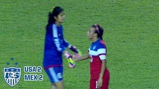 U-20 WNT vs. Mexico: Highlights - Dec. 4, 2015