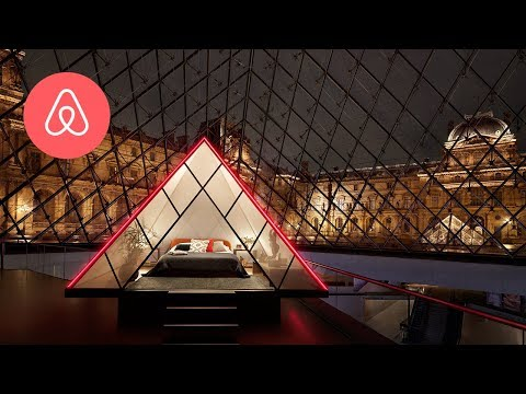 AirBnB Granting One Night Sleepover Opportunity at the Louvre Museum