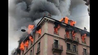 Pompiers Genève - Rétrospective 2017 du SIS