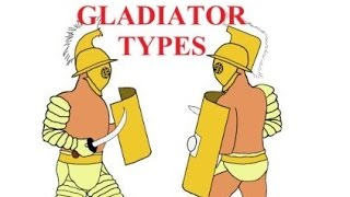 Gladiator types: Ⅰ Overview of the 7 most popular classes of gladiators in Imperial Rome