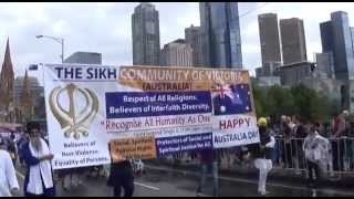 Australia Day 2015 - Sikh Community of Victoria