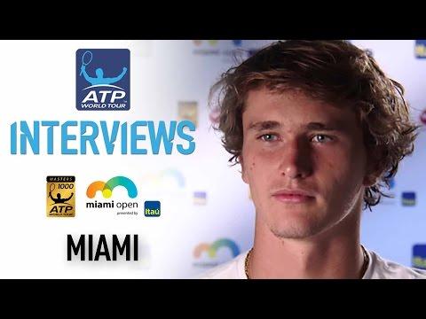 Zverev Reflects On Wawrinka Upset Miami 2017