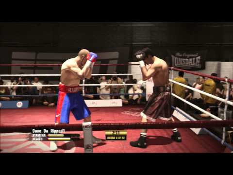 Fight Night Champion- DDR1 Vs AnimalVader HW Ring Magazine Title match