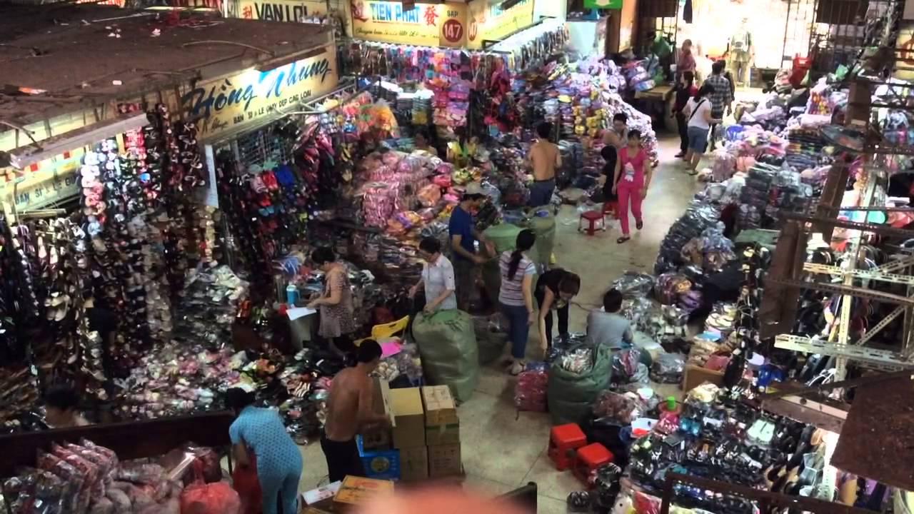 Clothes Market, China Town, Saigon, Vietnam