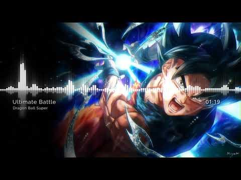 Ultimate Battle Cover Dragon Ball Super