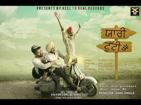 YARRI TUTTI COVER | ARMAAN GILL | SAHIL SINGLA | REEL TO REAL RECORDS