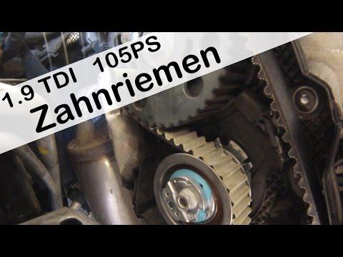 Touran Zahnriemen wechseln 1,9TDI mkb: BLS