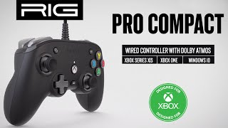 Rig has dominated the headset space for years, now it's time controllers. introducing pro compact, world's first controller to include 3d aud...