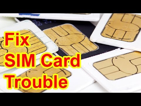 How to Fix Sim Card Not Detected and Reading on Android Smartphone Working  Problem