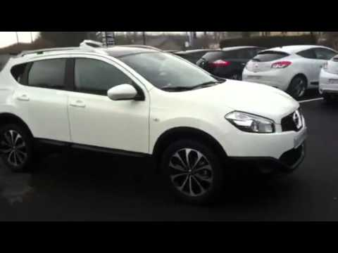 nissan qashqai connect dition 1 5 dci 110 blanc youtube. Black Bedroom Furniture Sets. Home Design Ideas