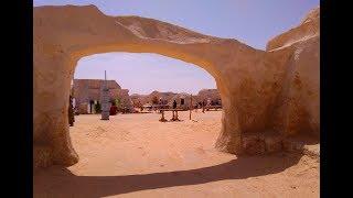 Тунис. Поездка на планету Татуин. Декорации к