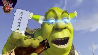 Бухой Шрек устроил пьяный дебош на арене Дюлока-1 час RYTP Зверобокс
