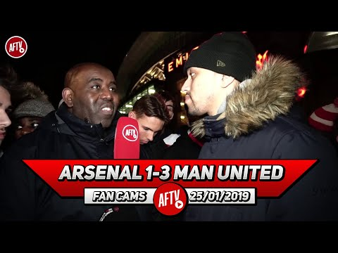 Arsenal 1-3 Man United   Why Are We Wasting Aubameyang Out Wide!
