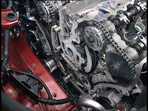 Opel/Vauxhall Z 28 NEL / NET Repair Changing Timing Belt Opel Training Video