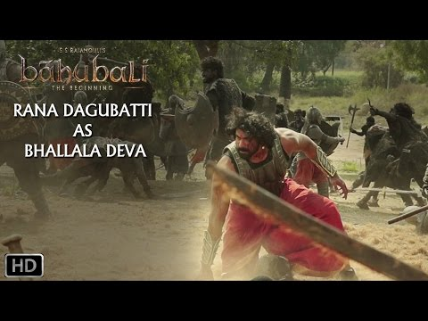 Thumbnail: Rana Dagubatti As Bhallala Deva | Baahubali - The Beginning