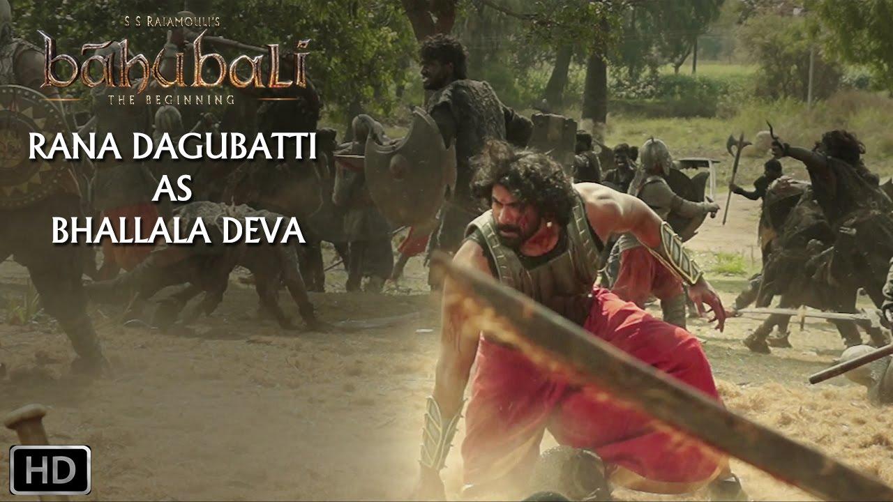 Download Rana Dagubatti As Bhallala Deva   Baahubali - The Beginning