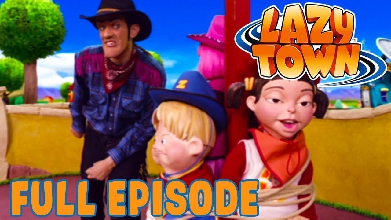 Play Day | Full Episode | Lazy Town | Kids Cartoon