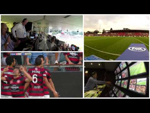 FOX SPORTS - A LEAGUE - Football Outside Broadcast - Behind the Scenes